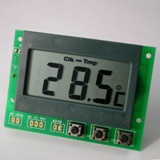 Thermometer Clock Module with Hi/Lo and Max/Min Setting