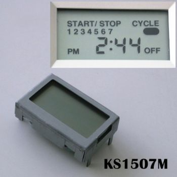 7-Channels AC Power On/Off Time Switch Module, KS1507M