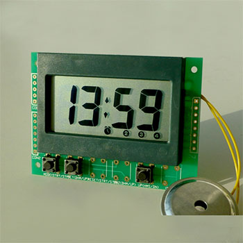 daily multi-reminding clock module