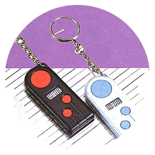 Key Chain Clock and Timer